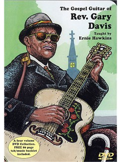 The Gospel Guitar Of Rev. Gary Davis: Taught By Ernie Hawkins DVD DVDs / Videos | Guitar