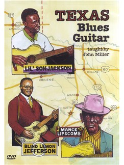 John Miller: Texas Blues Guitar DVDs / Videos | Guitar