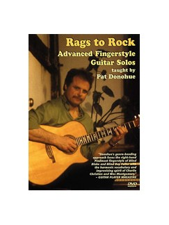 Rags To Rock: Advanced Fingerstyle Guitar Solos (DVD) DVDs / Videos | Guitar