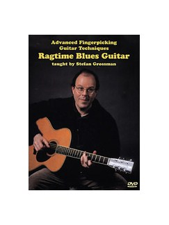 Stefan Grossman: Ragtime Blues Guitar DVDs / Videos | Guitar