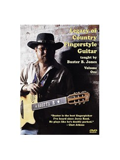 Buster Jones: Legacy Of Country Fingerstyle Guitar Volume One DVDs / Videos | Guitar
