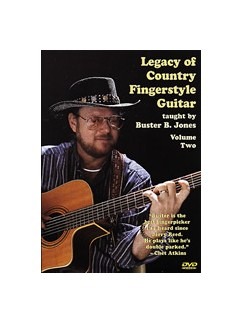 Buster Jones: Legacy Of Country Fingerstyle Guitar Volume Two DVDs / Videos | Guitar