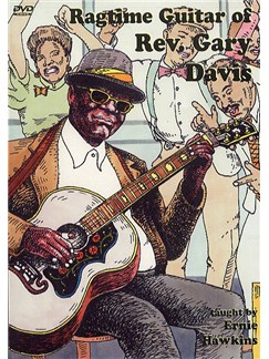 Ragtime Guitar Of Rev. Gary Davis - 2 DVD Set DVDs / Videos | Guitar