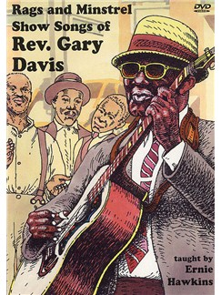 Rags And Minstrel Show Songs Of Rev. Gary Davis DVDs / Videos   Guitar
