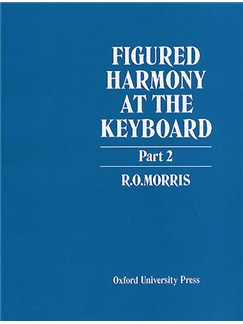 Figured Harmony At The Keyboard Part 2 Books | Keyboard