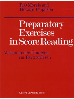 R.O Morris and H. Ferguson: Preparatory Exercises in Score Reading Books | All Instruments