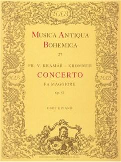 Franz Krommer: Concerto For Oboe In F Op.52 (Oboe/Piano) Books | Oboe, Piano Accompaniment