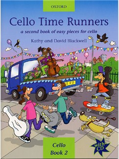 Kathy/David Blackwell: Cello Time Runners Books and CDs | Cello
