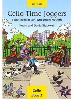 Kathy/David Blackwell: Cello Time Joggers Book 1 Books and CDs | Cello