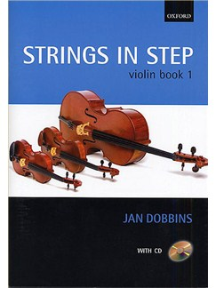 Jan Dobbins: Strings In Step Violin Book 1 (Book/CD) Books and CDs | Violin