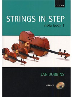 Jan Dobbins: Strings In Step Viola Book 1 (Book/CD) Books and CDs | Viola