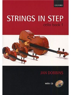 Jan Dobbins: Strings In Step Cello Book 1 (Book/CD) Books | Cello