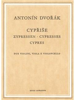 A. Dvorak: Cypresses For String Quartet (Study Score) Books | String Quartet