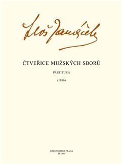 Leos Janacek: Four Male Choruses Books | TTBB