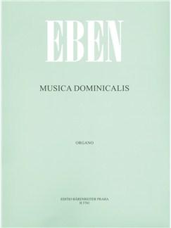Petr Eben: Musica Dominicalis (Sunday Music) Books | Organ