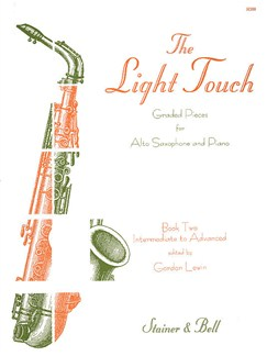 The Light Touch - Book 2 (Alto Saxophone/Piano) Books | Alto Saxophone, Piano Accompaniment