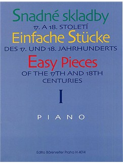 Easy Pieces Of The 17th And 18th Centuries Piano Book One Books | Piano