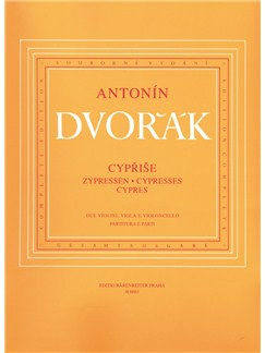 A Dvorak: Cypresses For String Quartet (Parts) Books | String Quartet