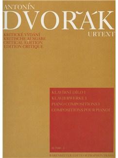 Antonin Dvorak: Piano Works Volume 1 Books | Piano