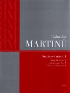 Bohuslav Martinu: String Trio No.1 H.136 (Parts) Books | String Trio