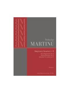 Bohuslav Martinu: String Quartet No.6 H.312 - Study Score Books | String Quartet