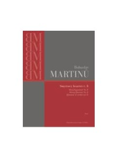 Bohuslav Martinu: String Quartet No.6 H.312 - Parts Books | String Quartet
