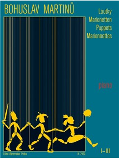 B. Martinu: Puppets I-III Short Pieces For Piano Books | Piano