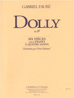 Gabriel Fauré: Dolly Op.56 (Orchestral Pocket Score) (Rabaud) Buch | Orchester