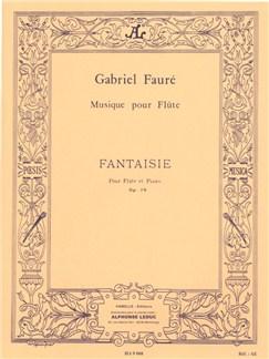 Gabriel Fauré: Fantaisie For Flute And Piano Op.79 Books | Flute, Piano Accompaniment