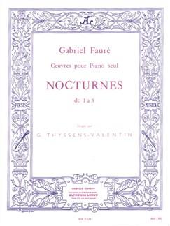 Gabriel Fauré: Nocturnes 1-8 Books | Piano