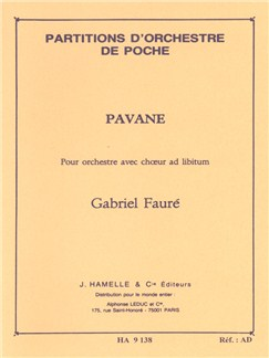 Gabriel Fauré: Pavane Op.50 (Pocket Score) Books | SATB, Orchestra