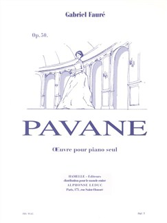 Pavane Op 50 Books | Piano