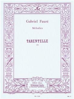 Gabriel Fauré: Tarentelle Op.10 No.2 Books | Soprano (Duet), Piano Accompaniment