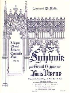 Louis Vierne: Symphonie No.2, Op.20 (Organ) Books | Organ
