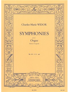 Charles-Marie Widor: Symphonie For Organ No.6 Op.42 No.2 Books | Organ