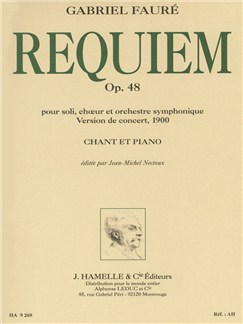 Gabriel Fauré - Requiem Op. 48 (1900 Version) Books | SATB, Piano Accompaniment