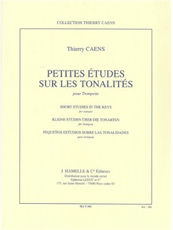 Thierry Caens: Short Studies In The Keys Books | Trumpet
