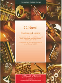 Arban: Fantaisie sur carmen cornet(si bemol) et fl./htbs./clarinette/bassson/cor(fa) Books | Ensemble