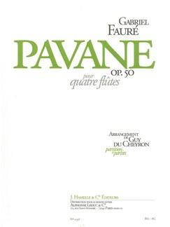 Gabriel Faure: Pavane Op.50 (Flute Quartet) (Score/Parts) (Du Cheyron) Books | Flute (Quartet)