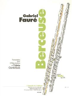 Faure: Berceuse. Extrait De Dolly Op.56 (N°1) Transcription Odette Gartenlaub Books | Flute