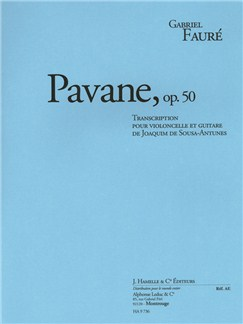 Faure: Pavane, op. 50 transcription pour violoncelle et guitare Books | Cello