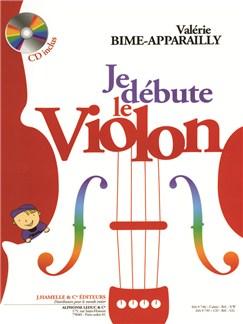 Valérie Bime-Apparailly - Je Débute le Violon (avec CD) Books | Violin