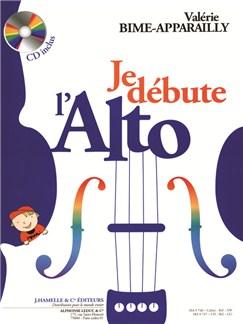 Valérie Bime-Apparailly - Je débute l'alto (avec cd) Livre | Alto