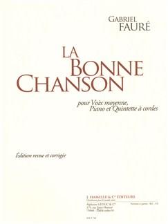 Gabriel Fauré: La Bonne Chanson (String QuintetParts) Books | String Quintet