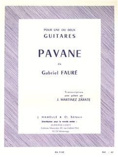 Gabriel Fauré: Pavane Op.50 (Guitar or Guitar Duet) (Zárate) Books | Guitar