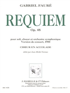 Requiem Op 48 Version 1900 Books | SATB