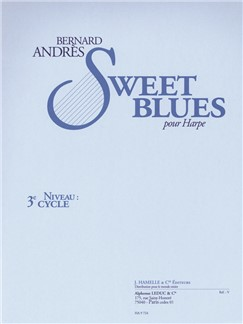 Bernard Andrès: Sweet Blues (Harp) Books | Harp