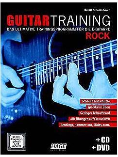 Guitar Training Rock (Mit CD Und DVD) Buch, CD und DVDs / Videos | E-Gitarre (Elektrik), Gitarrentabulatur (Elektrik)