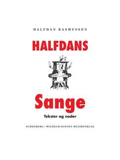 Halfdan Rasmussen: Halfdans Sange (Songbook) Bog | Melodilinie, tekst og becifring