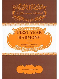 William Lovelock: First Year Harmony Books | Voice